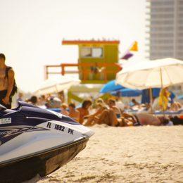Miami Beach Strandleben