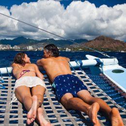 Blick auf Waikiki und Diamond Head