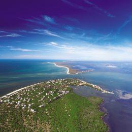 Fort Myers Beach aus der Vogelperspektive