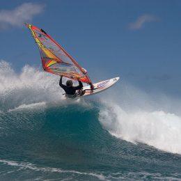 Surfer am Sunset Beach