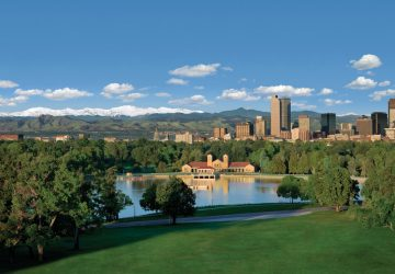 Denver: Hauptstadt mit Bergkulisse