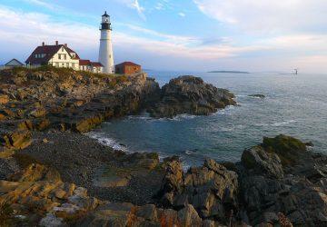 Maine: Zerklüftete Küsten und viel Wald