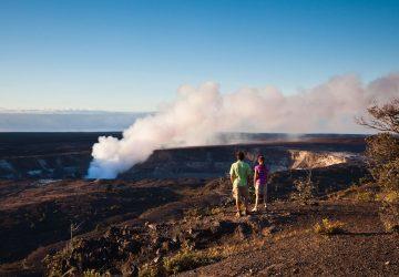 Volcanoes National Park: Zwei der weltweit aktivsten Vulkane