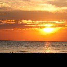 Sonnenuntergang, St. Petersburg Beach