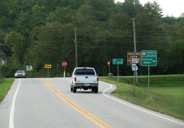 Verkehrszeichen in den USA